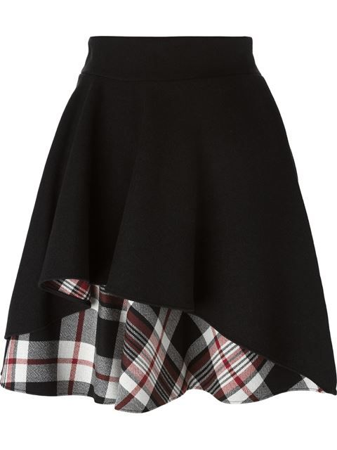 Alexander Mcqueen Ruffled A-line Skirt - Julian Fashion - Farfetch.com