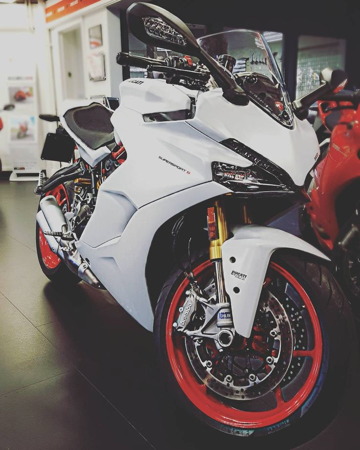 Didnt get chance to go down to the NEC? The new Ducati Supersport S is with us for the next week! #Ducati #Supersport #S #Smcbikes http://ift.tt/2iods2v
