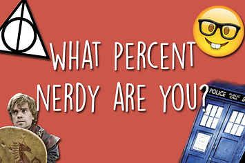 What Percent Nerdy Are You? 100% full on nerd
