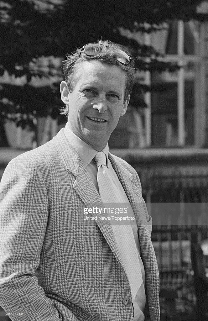 English actor Jeremy Brett (1933-1995) posed in London on 19th August 1985.