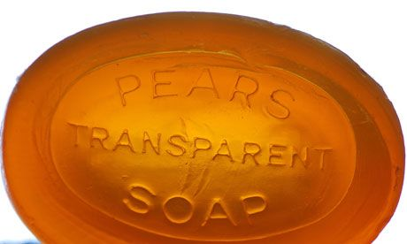 """This Pears soap just won't wash!"" @ The Guardian. An article about one man's hoarding reaction after Pears Soap changed its 200 year old formula."