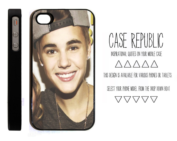 Apple iPhone 4 4G 4S 5 iPod Touch 5 Case Cover Justin Bieber Belieber Quotes Inspired Design Vintage Retro. $15.00, via Etsy.