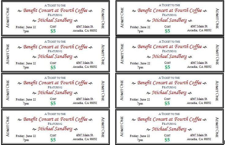 Event tickets are important to design to control the number of guests and make some amount of money. The event ticket is designed to inform people about the date and policies of event. The tickets help you to count the number of people going to attend your event. It is an important way to prepare a well organized guest list.