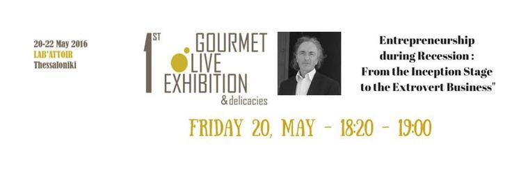 Gourmet Olive Exhibition Thessaloniki 20-22/05/2016 | The DKG GROUP Calendar