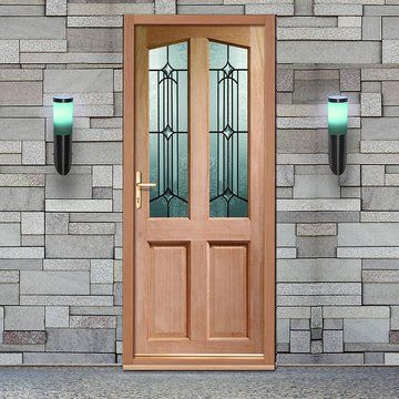 Richmond External Wooden Door is Dowel Jointed with Donne Style Double Glazing