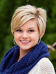 Korte vakre mote håret parykker for kvinner