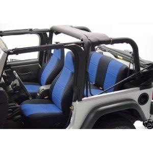 Jeep Wrangler JK TJ YJ LJ CJ Coverking Neoprene Custom Fit Seat Covers