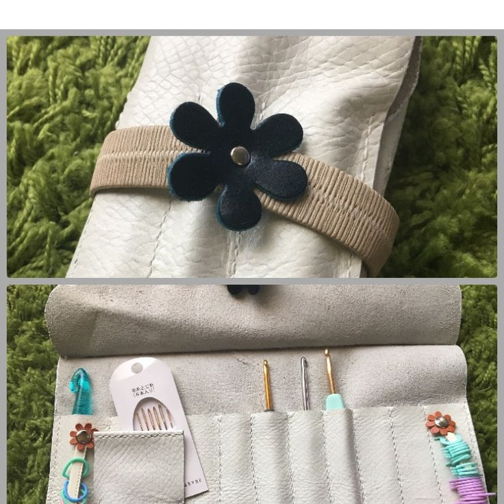編み物用のかぎ針編みケース