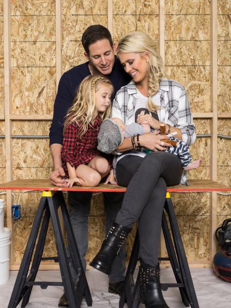Tarek and Christina El Moussa of HGTV's Flip or Flop.