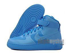 Nike Air Force 1 Hi Hyperfuse Premium ( Blue ) 454433-400