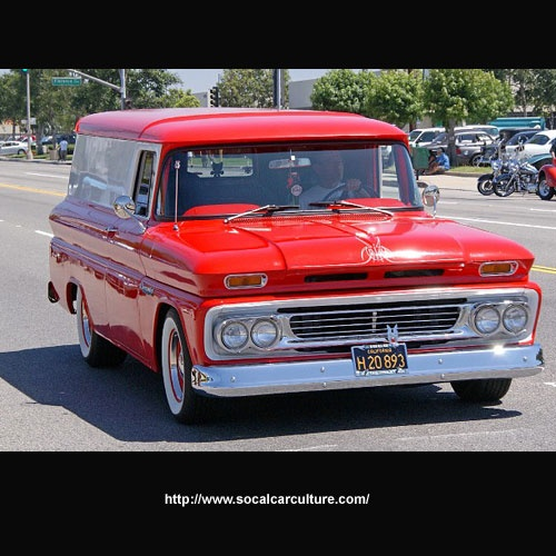 panel trucks | 1964 Chevy Panel Truck - R Vacuum Craft