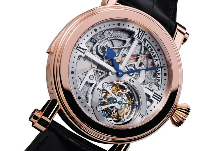 Speake-Marin Renaissance - Tourbillon Minute Repeater - Monochrome Watches - Monochrome Watches