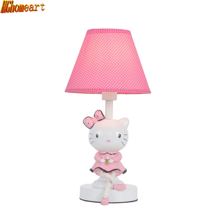 HGhomeart Kids Room Modern Cartoon Table Lamp Childrenu0027s Table Lamp  110V 220V Reading Light Switch