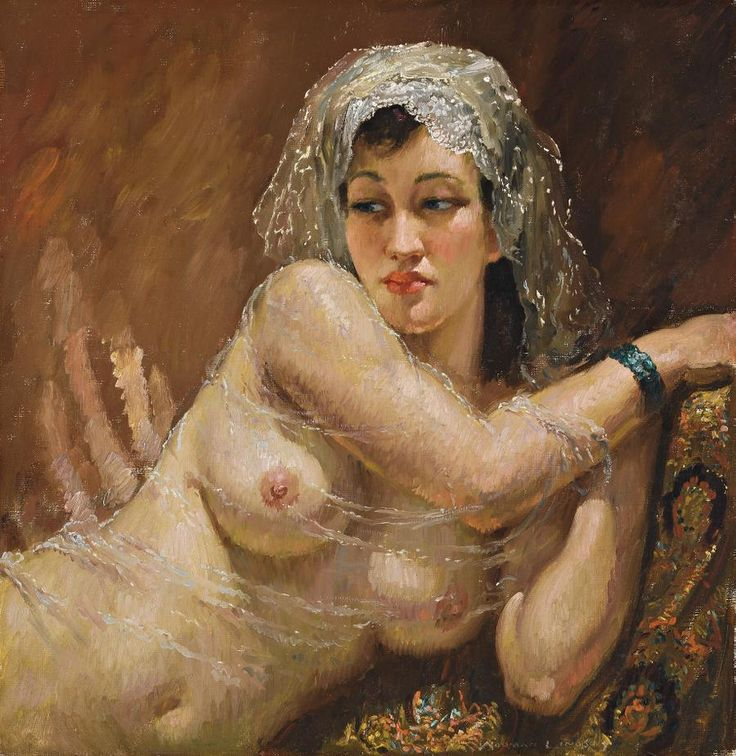 Odalesque, 1942 - Norman Alfred Williams Lindsay (1879-1969)