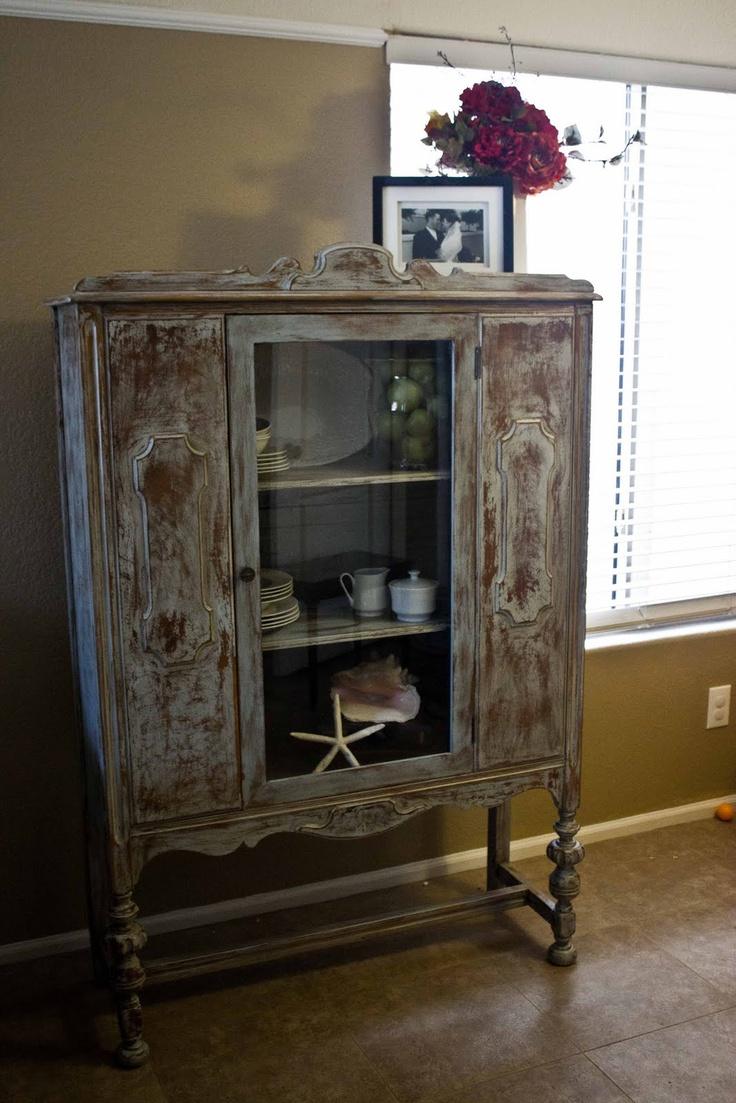 New to You: Antique Distressed Hutch