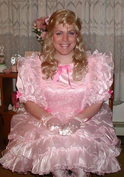 A Happy Petticoated Sissy Sissies Pinterest