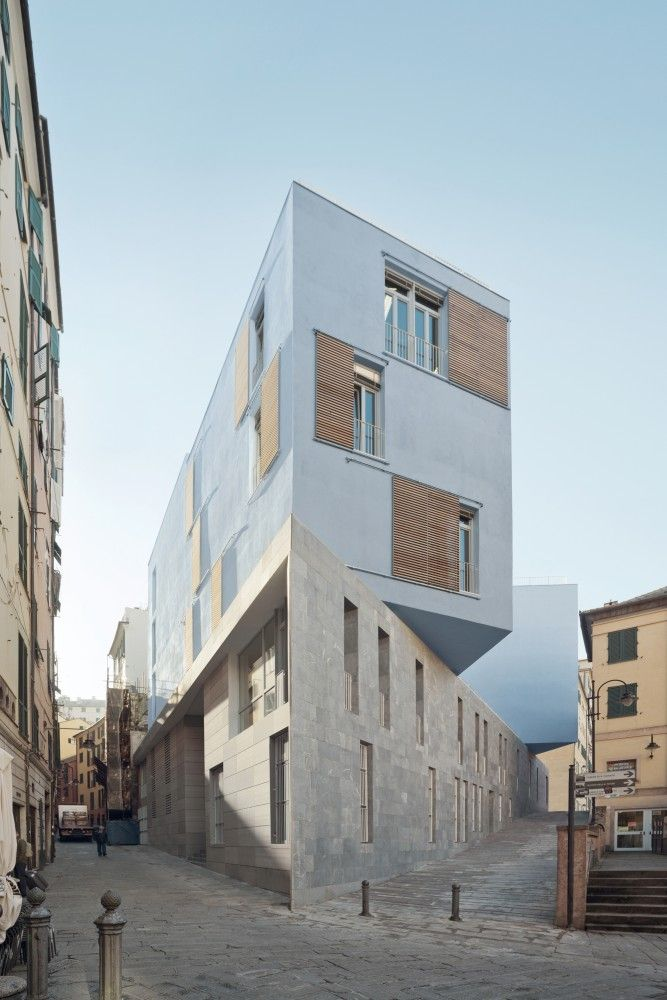 New School In Piazza Delle Erbe, Genoa, Italy - PFP Architekten (Architect In Charge: Jörg Friedrich), 2014