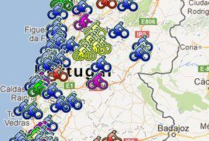 CICLOVIAS - mapas de todas as ecovias, ecopistas e ciclovias em Portugal