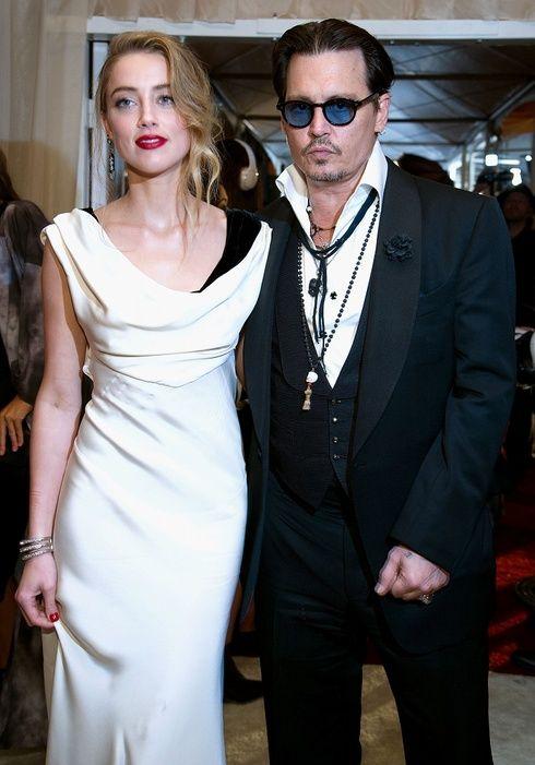 【ELLEgirl】ジョニー・デップがアンバー・ハードと民事婚!挙式は今週末に♡|エル・ガール・オンライン