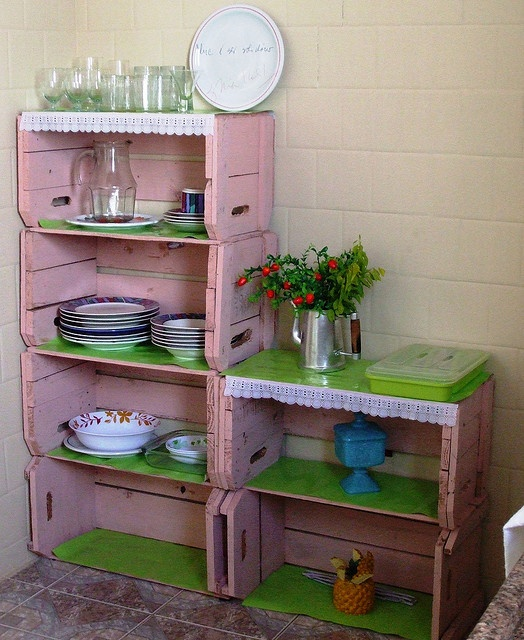 crate style storage
