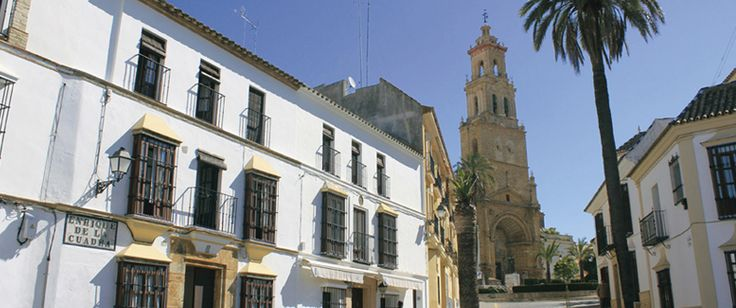 Plaza del Bacalao, en Utrera.