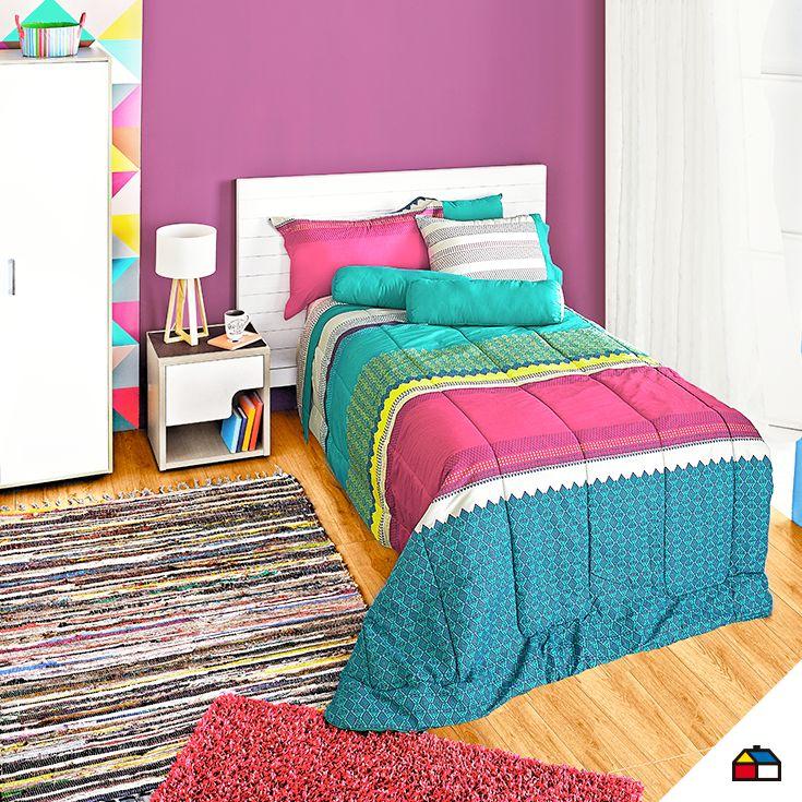 #Sodimac #Homecenter #sábanas #almohada #cuarto #dormitorio #espacio #hogar #inspiración #decoracion #homedecor