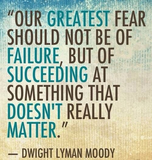 my greatest fear is failure The my greatest failure trope as used in popular culture nothing defines a hero better than his morals, and the biggest sympathy point can be guilt over.