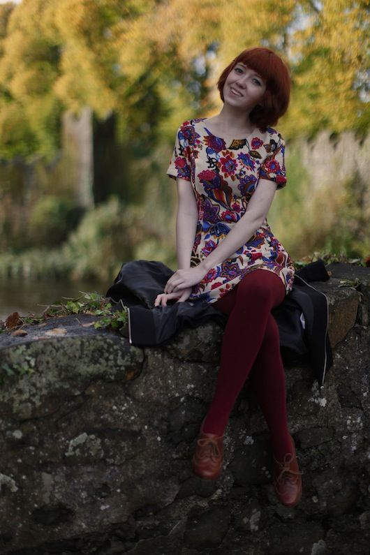 love this simple dress by Rebecca from the Clothes Horse