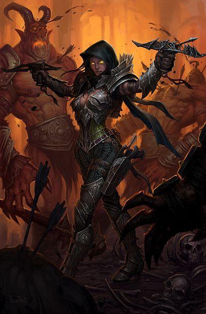 Can't wait to dual wield them pistol crossbows!    Diablo 3