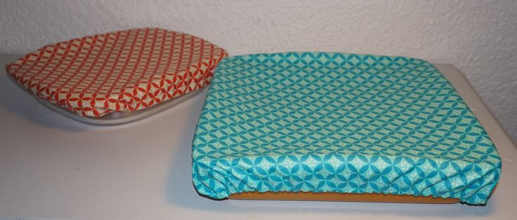 Couvre-plat carré, couvercle ou charlotte en tissu enduit, 30cm x 30cm : Cuisine et service de table par bila-touchatou