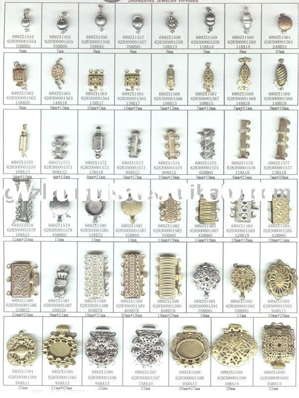 types of jewelry clasps 61 best images about crimps clasps and closures on 559