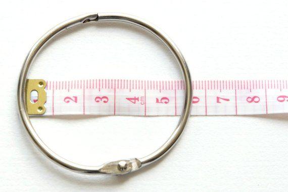 Hinged Book Ring Approx 5cm 2inch Book Binding Methods Book Binding Mini Albums