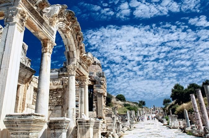 Historic Private Guided Tour of Ephesus with van Visit the ancient city of Ephesus, House of Mother Mary, St John's Basilica and Artemis Temple.These are all mystical sites of which many were added to the WHO list by UNESCO, and are a must see if you are visiting Turkey.After a scenic short drive, you will arrive in Ephesus which was the Roman capital of Asia Minor, and home to over a quarter million people from slave traders to saints at its peak between 1 AD and 2 AD. 150 ye...
