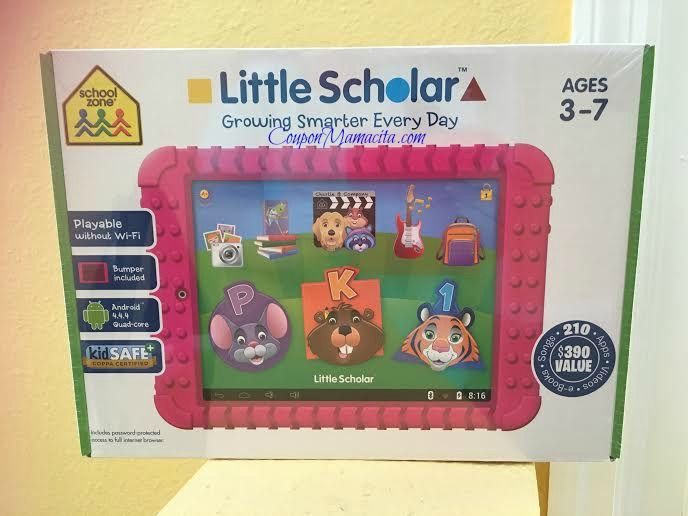 Blog post at This N That with Olivia : Do you have a kiddo who always wants your tablet?! I'm excited to shared that the School Zone Little Scholars Tablet is tailor made for chil[..]