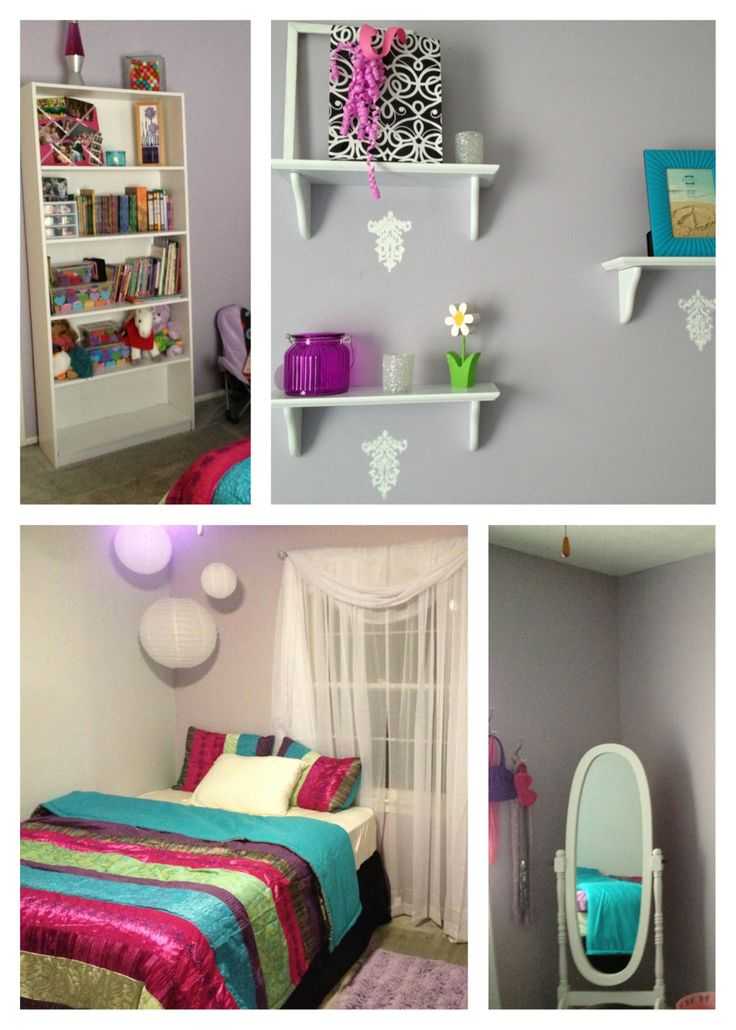 Girl's bedroom redesign