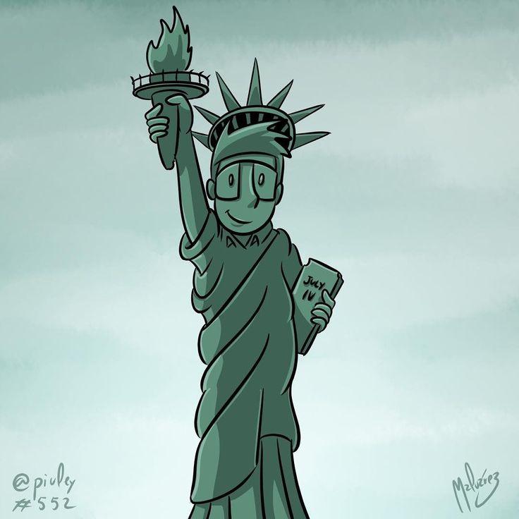 Ztatue of Liberty  Happy Independence Day northamerica!  Feliz día de la independencia Norteamérica!  #independence #day #independenceday #liberty #statueofliberty #statue #usa #america #ID4 #northamerica #newyork #4thofjuly  #illustration #draw #sketch #drawing #art #artistsoninstagram #dailysketch  #cute #adorable #chibi #kawaii  #fanart #digital #digitalpainting #digitalart