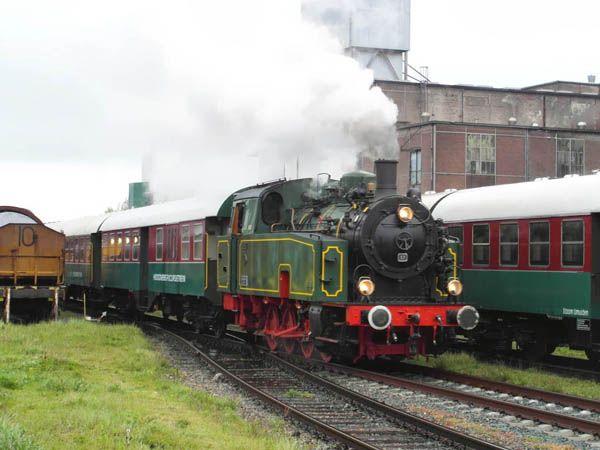 "locomotief nummer 57 ""Bonne"", Hoogovens Stoom IJmuiden"