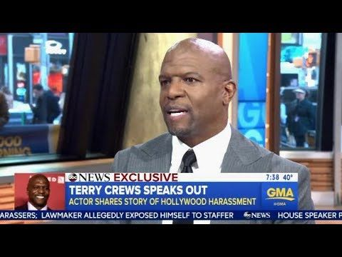Terry Crews details alleged sexual assault by Hollywood talent agent - YouTube