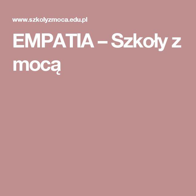 EMPATIA – Szkoły z mocą