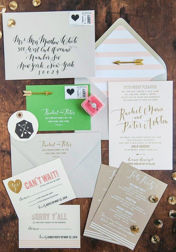 Creating Wedding Invitations: 5 Details To Remember