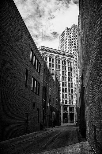Downtown Alley (Winnipeg, MB)