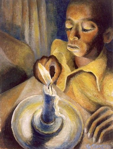 boy and the candle gerard sekoto - Google Search