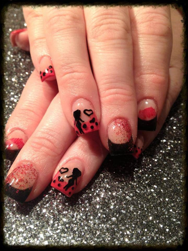 #nails #nailart #naildesigns #nailartdesigns #prettynails #bettyboop