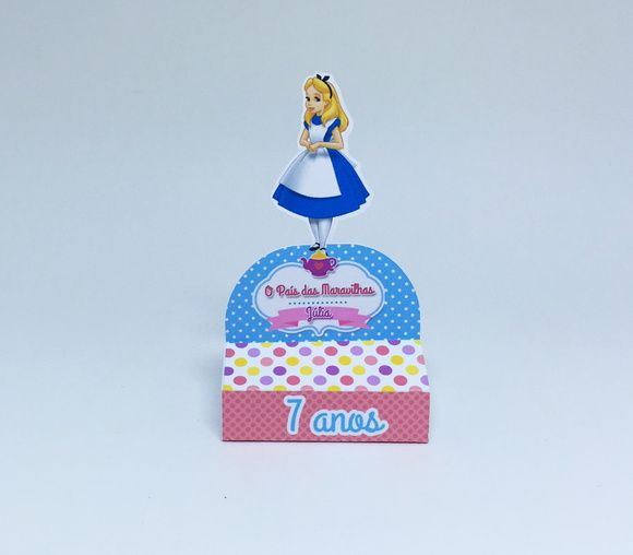 Rótulo Chocolate Alice
