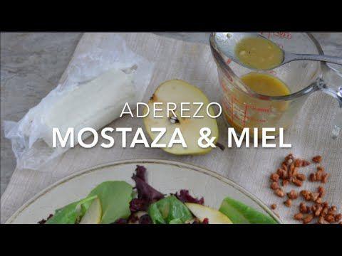 Aderezo de mostaza y miel o mostaza dulce (listo en 3 minutos)
