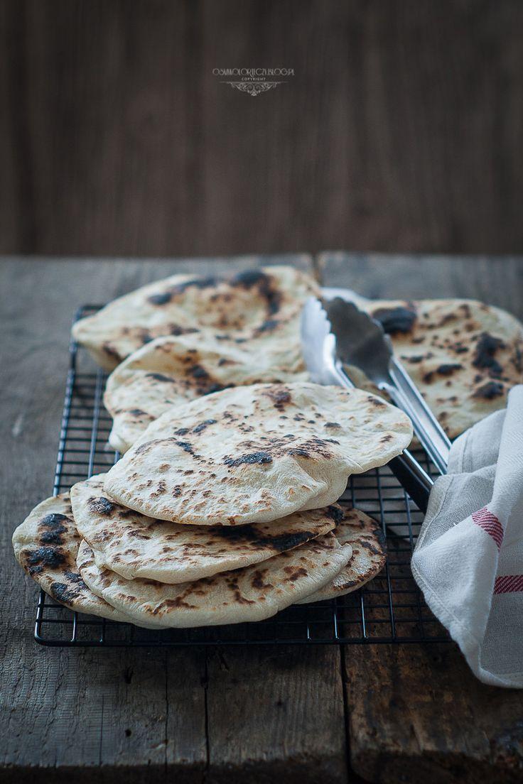 Simple naan (no yeast)