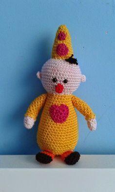 CreAnka...: Een kleine clown ( met patroon)