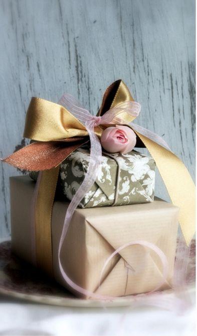 Pink Rose Gift Wrap