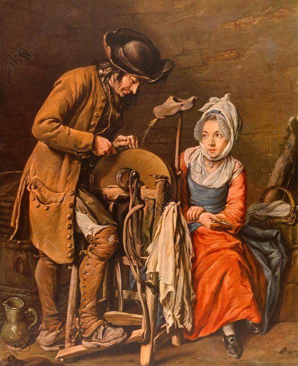 Le Rémouleur - Le rémouleur Nicolas Bernard Lépicié