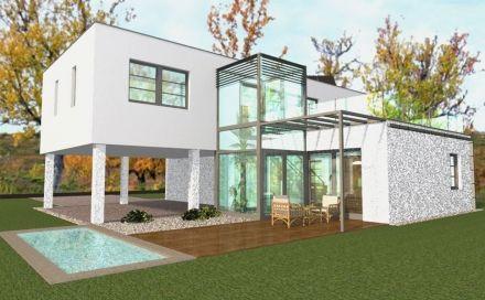 Zöldtető alatt - energiatudatos családi ház